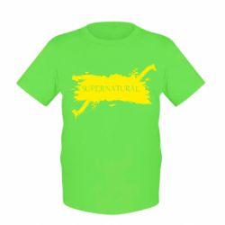 Детская футболка Сверхъестественное - FatLine