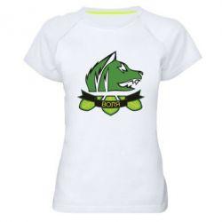 Женская спортивная футболка Свобода