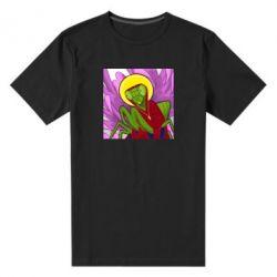 Чоловіча стрейчева футболка Святий богомол
