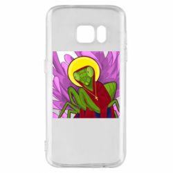 Чохол для Samsung S7 Святий богомол