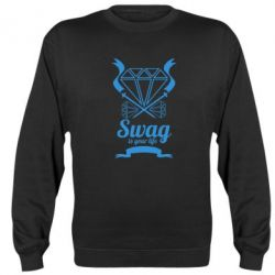 Реглан (свитшот) Swag is your life - FatLine