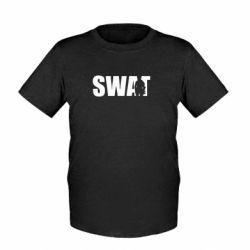 Детская футболка SWAT - FatLine