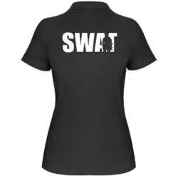 Женская футболка поло SWAT - FatLine