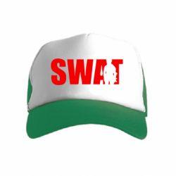 Детская кепка-тракер SWAT