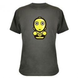 Камуфляжная футболка Sweet C-3PO - FatLine