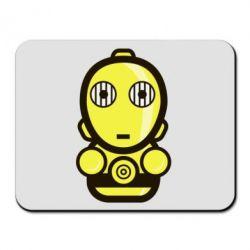 Коврик для мыши Sweet C-3PO - FatLine