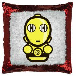 Подушка-хамелеон Sweet C-3PO