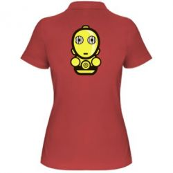 Женская футболка поло Sweet C-3PO - FatLine