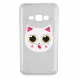 Чехол для Samsung J1 2016 Sweet Cat - FatLine
