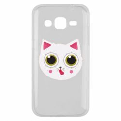 Чехол для Samsung J2 2015 Sweet Cat - FatLine