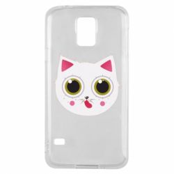 Чехол для Samsung S5 Sweet Cat - FatLine