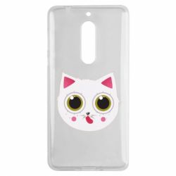 Чехол для Nokia 5 Sweet Cat - FatLine