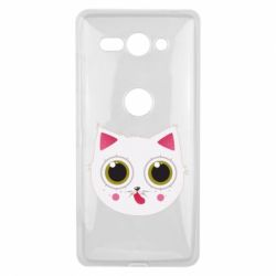 Чехол для Sony Xperia XZ2 Compact Sweet Cat - FatLine