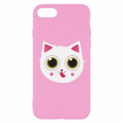 Чехол для iPhone 7 Sweet Cat - FatLine