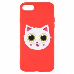 Чехол для iPhone 8 Sweet Cat - FatLine