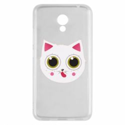Чехол для Meizu M5c Sweet Cat - FatLine