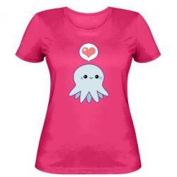 Женская футболка Sweet Octopus