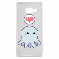 Чехол для Samsung A3 2016 Sweet Octopus