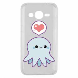 Чехол для Samsung J2 2015 Sweet Octopus