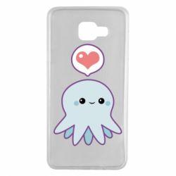 Чехол для Samsung A7 2016 Sweet Octopus