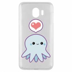 Чехол для Samsung J4 Sweet Octopus