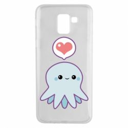 Чехол для Samsung J6 Sweet Octopus