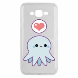 Чехол для Samsung J7 2015 Sweet Octopus