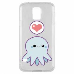Чехол для Samsung S5 Sweet Octopus
