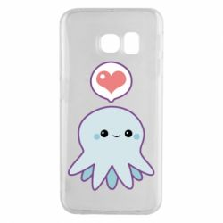 Чохол для Samsung S6 EDGE Sweet Octopus