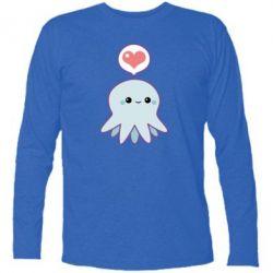 Футболка с длинным рукавом Sweet Octopus