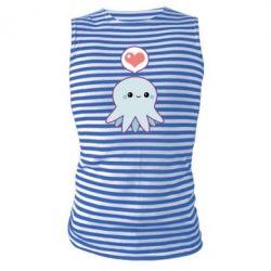 Майка-тельняшка Sweet Octopus
