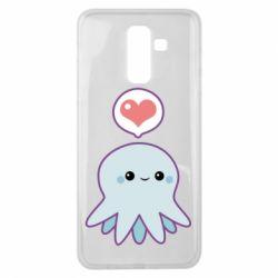 Чехол для Samsung J8 2018 Sweet Octopus