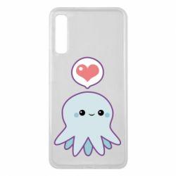Чехол для Samsung A7 2018 Sweet Octopus