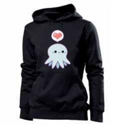 Женская толстовка Sweet Octopus