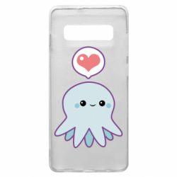 Чехол для Samsung S10+ Sweet Octopus