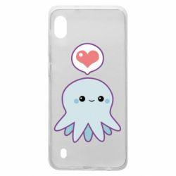 Чехол для Samsung A10 Sweet Octopus