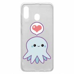 Чехол для Samsung A20 Sweet Octopus