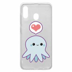 Чехол для Samsung A30 Sweet Octopus