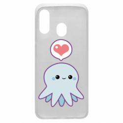 Чехол для Samsung A40 Sweet Octopus