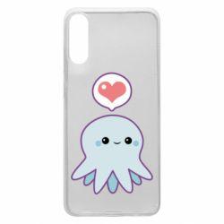 Чехол для Samsung A70 Sweet Octopus