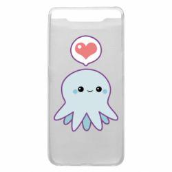 Чехол для Samsung A80 Sweet Octopus