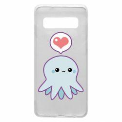 Чехол для Samsung S10 Sweet Octopus