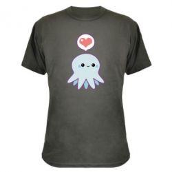 Камуфляжная футболка Sweet Octopus