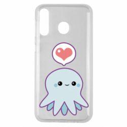 Чехол для Samsung M30 Sweet Octopus