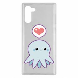 Чохол для Samsung Note 10 Sweet Octopus
