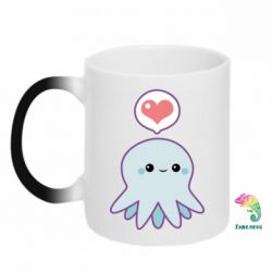 Кружка-хамелеон Sweet Octopus