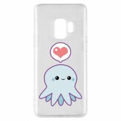Чехол для Samsung S9 Sweet Octopus