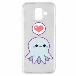 Чехол для Samsung A6 2018 Sweet Octopus