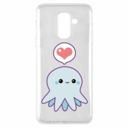 Чехол для Samsung A6+ 2018 Sweet Octopus