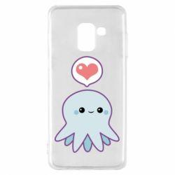Чехол для Samsung A8 2018 Sweet Octopus